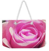Cotton Candy Pink Weekender Tote Bag