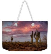 Cotton Candy Pink Sonoran Sunrise  Weekender Tote Bag