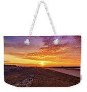 Cotton Candy Sea Salt Weekender Tote Bag