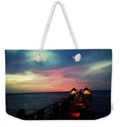 Cotton Candy Sky Weekender Tote Bag