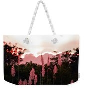 Cotton Candy Sunset 4 Weekender Tote Bag