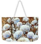 Cotton Fields Weekender Tote Bag