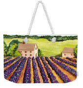 Cotton Fields Weekender Tote Bag