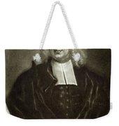 Cotton Mather 1663-1728 Weekender Tote Bag