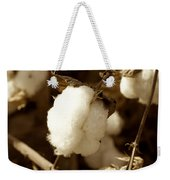 Cotton Sepia2 Weekender Tote Bag