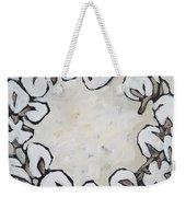 Cotton Wreath Weekender Tote Bag