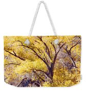 Cottonwood Golden Leaves Weekender Tote Bag