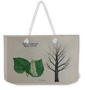 Cottonwood Tree Id Weekender Tote Bag