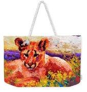 Cougar Cub Weekender Tote Bag