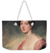 Countess Of Plymouth By Sir Thomas Lawrence Weekender Tote Bag