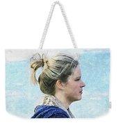 Country Angel - Paint Fx Weekender Tote Bag