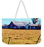 Country Barn And Shed Weekender Tote Bag
