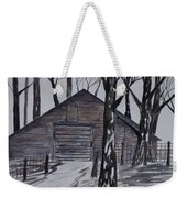 Country Barn Pen And Ink Drawing Print Weekender Tote Bag
