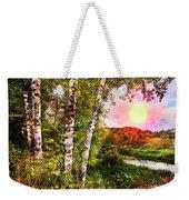 Country Birch Weekender Tote Bag