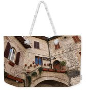 Country Charm Assisi Italy Weekender Tote Bag