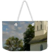 Country Chuch Weekender Tote Bag
