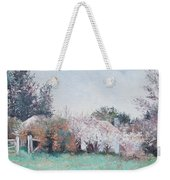 Country Cottage In Spring Time Weekender Tote Bag