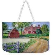 Country Estate Weekender Tote Bag