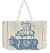 Country Farm Friends Weekender Tote Bag