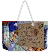 Country Farmer's Market Weekender Tote Bag