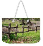 Country Fence Weekender Tote Bag
