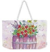 Country Flowers Weekender Tote Bag