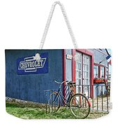 Country French Cafe Weekender Tote Bag