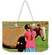Country Girl Weekender Tote Bag