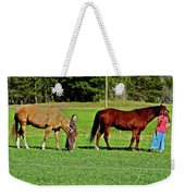 Country Girls Weekender Tote Bag