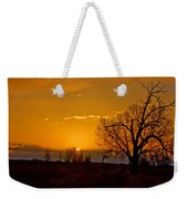 Country Golden Sunrise Weekender Tote Bag