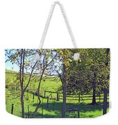 Country Green Weekender Tote Bag