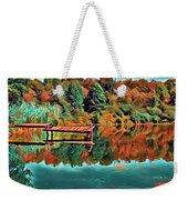 Country Lake Weekender Tote Bag