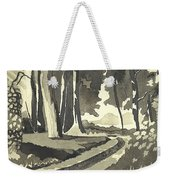 Country Lane In Evening Shadow Weekender Tote Bag