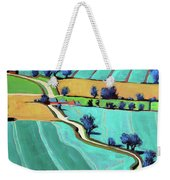 Country Lane Summer II Weekender Tote Bag