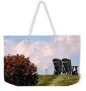 Country Life - Evening Relaxation Weekender Tote Bag