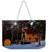 Country Living, Two Weekender Tote Bag