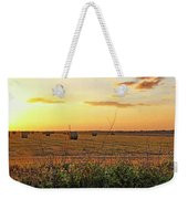 Country Pasture At Sunset Weekender Tote Bag