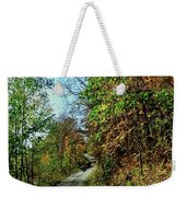 Country Path Weekender Tote Bag