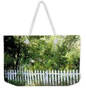 Country Picket Fence Weekender Tote Bag