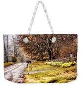 Country Road Weekender Tote Bag