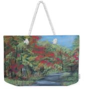 Country Road II Weekender Tote Bag