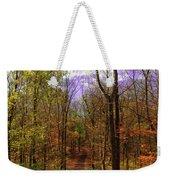 Country Road In Autumn Weekender Tote Bag