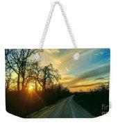 Country Road Please Take Me Home Weekender Tote Bag