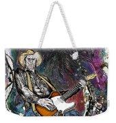 Country Rock Guitar Weekender Tote Bag
