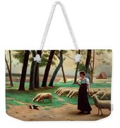 Country Shepherdess  Weekender Tote Bag
