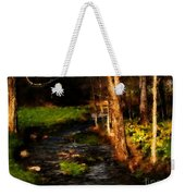 Country Stream Weekender Tote Bag