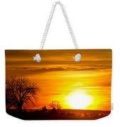 Country Sunrise 1-27-11 Weekender Tote Bag