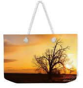 Country Sunrise Weekender Tote Bag