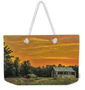 Country Sunset Weekender Tote Bag