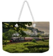 Country Train Ride Weekender Tote Bag